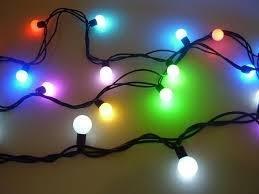 Prikkabel | Partyverlichting | 20 meter | Gekleurde lampen.