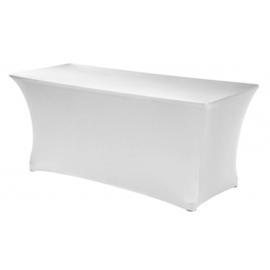 Buffettafel met witte stretch rok