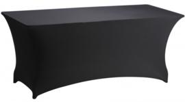 Buffet tafel met zwarte stretch rok