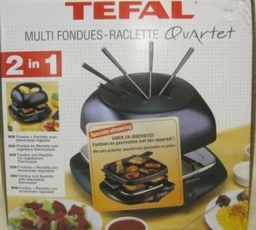 Multi Fondues Raclette Quartet