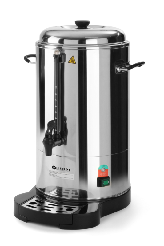 Percolator - 10 liter koffie voor 80 kopjes koffie