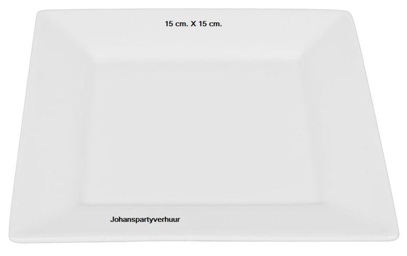 Gebaksbord - 15 X 15  - 10 stuks