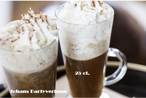 Latte macchiato glazen - 25 cl. - 5 stuks
