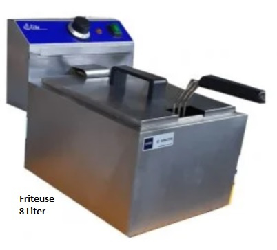 Friteuse - 8 liter
