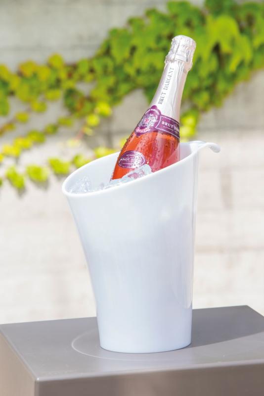 Luxe witte Champagne - Wijnkoeler - Flessenkoeler