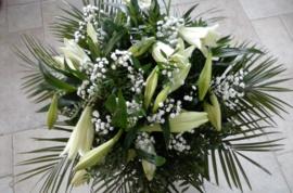 Witte Lelies boeket