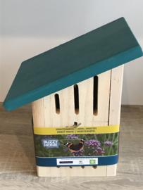 insectenkast met schuin dakje