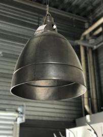 Industrielamp metaal, kleur zink