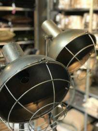 Vloerlamp Zink. Verstelbaar 120-175 cm