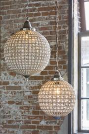 Hanglamp Nikkel Glas Kralen