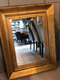 Spiegel goud 90x70cm