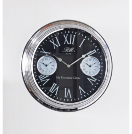 Riviera Maison My Favourite Cities Wall Clock