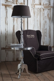 Riviera Maison Winston Winetable With Lamp