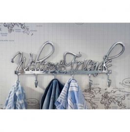 Rviera Maison Coatrack Welcome Friends