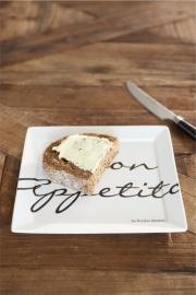 Buon Appetito Square Plate Bord 18 x 18