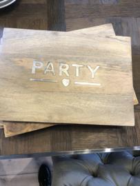 Riviera Maison Party Chopping Board