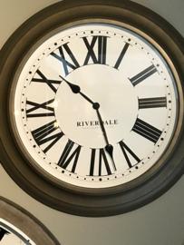 Riverdale klok bruin/brons 60cm