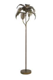 Vloerlamp Palm Brons