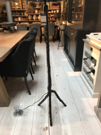 Vloerlamp Mat Zwart Metaal