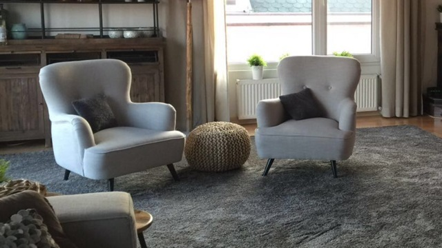 2 x Fauteuil Amy in Casa stof