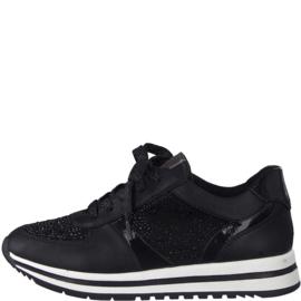 Jana Sneaker Zwart 23734