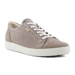 Ecco Dames Sneaker Taupe/Grijs 430003