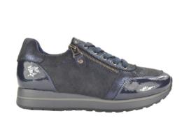 Fabs Sneaker Donkerblauw met Lak F61113