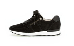 Gabor Sneaker Zwart Nubuck 43.420.17