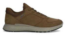 Ecco Heren Sneaker Bruin Nubuck 835304