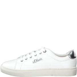 s'Oliver Dames Sneaker Wit 23660