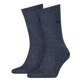 Puma Heren Sokken Jeans 2-pack 272001.460