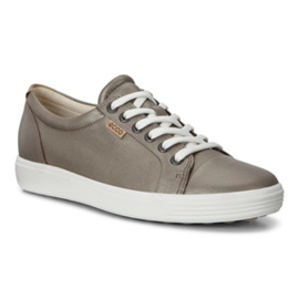 Ecco Dames Sneaker Taupe Brons 430003