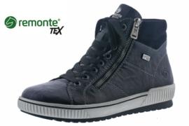 Remonte Hoge Sneaker Zwart D0772