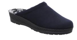 Rohde Dames Pantoffel D.Blauw 2291.56/50