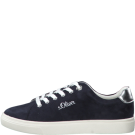 s'Oliver Dames Sneaker Donkerblauw 23660
