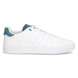 K-Swiss Heren Sneaker Wit met Blauw 06596
