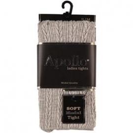 Kabel Panty Grijs Gemêleerd  Apollo 116285
