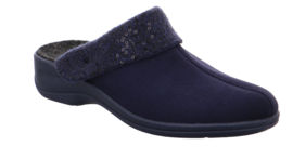 Rohde Dames Pantoffel Blauw  2411.56