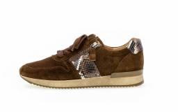 Gabor Sneaker Bruin Nubuck 420.18