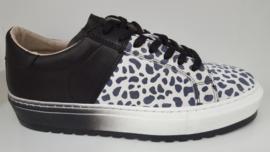JJ Sneaker Zwart/Wit Print 3181010