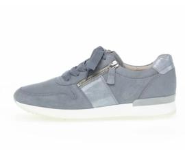 Gabor Sneaker Licht Blauw Nubuck 63.420.96