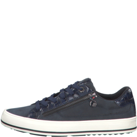 s'Oliver Dames Sneaker Blauw 23615