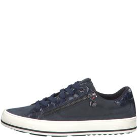 s'Oliver Dames Sneaker Blauw 23615