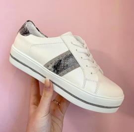 Fabs Sneaker Wit 61033