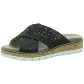 Longo Dames Slipper Zwart 1045387