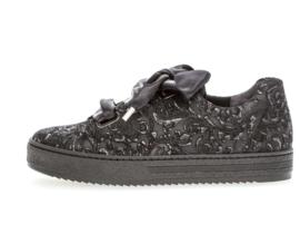 Gabor Sneaker Zwart Geprint 96.505.87