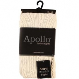 Dames Maillot (Kabel) Ecru  Apollo 116285