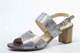 Caprice Dames Sandaal Zilver Grijs  28312
