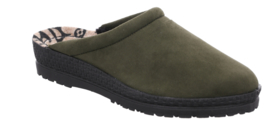 Rohde Dames Pantoffel Groen 2291.61