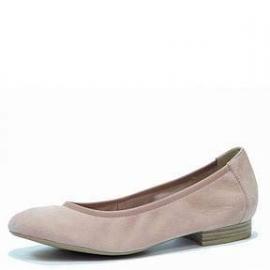 Caprice Dames Ballerina Rose Nubuck 22161
